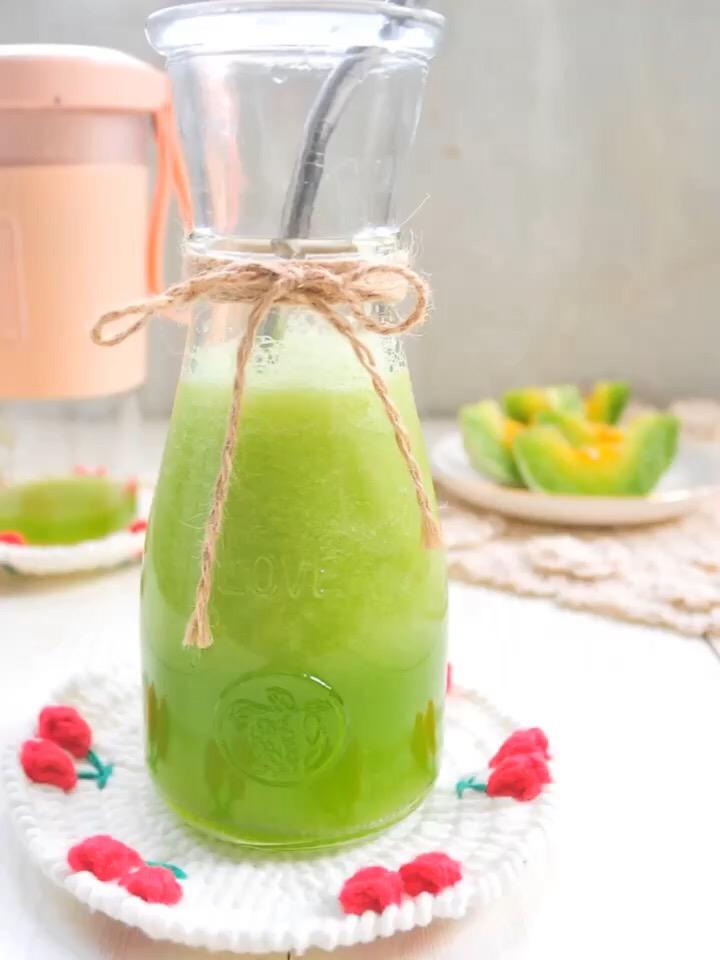 蜜瓜雪梨汁