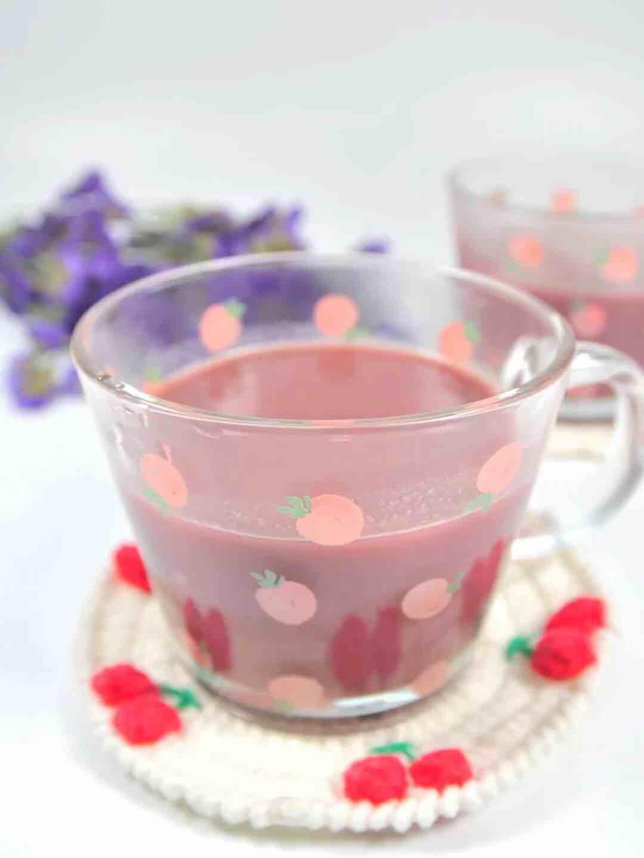 紫薯红枣小米糊