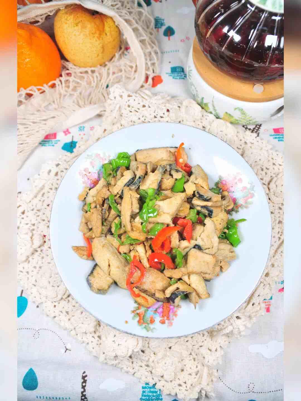 双椒臭豆腐