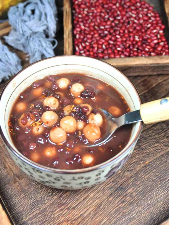 红豆小元宵的做法