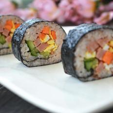 红梗米紫菜包饭