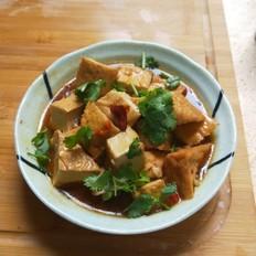 自制香辣臭豆腐