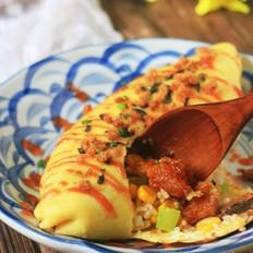 孤独美食家复刻——鳗鱼蛋包饭