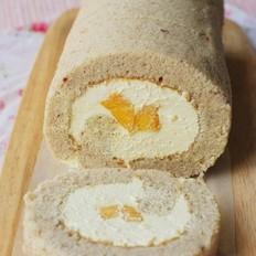 士多啤梨芒果蛋糕卷的做法