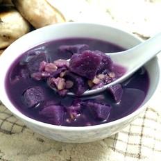燕麦紫薯糖水