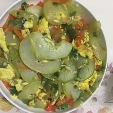 老黃瓜炒雞蛋