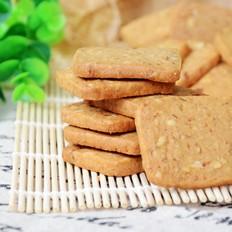 核桃红糖饼干