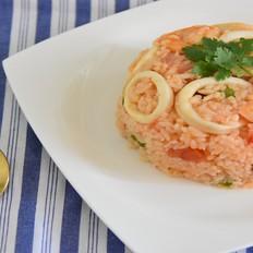 西班牙风味海鲜炒饭
