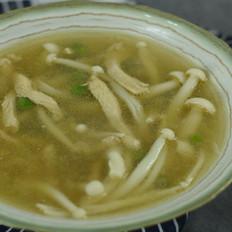 翡翠白玉豆腐汤