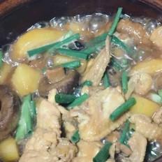 土豆香菇炖鸡翅