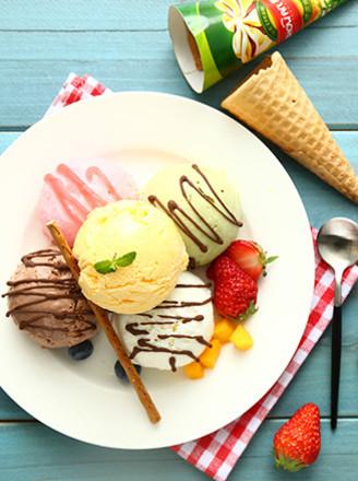 美味冰淇淋的做法