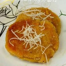椰香柿子饼