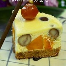 南瓜板栗乳酪蛋糕