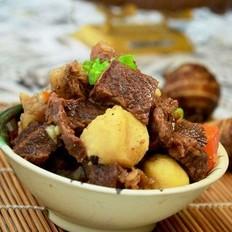 牛肉炖芋儿
