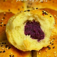 紫薯枣泥小餐包