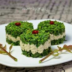 香椿豆腐堡