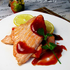 柠香三文鱼