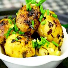 橄榄菜煎小土豆