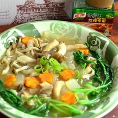 上汤炖菌蔬