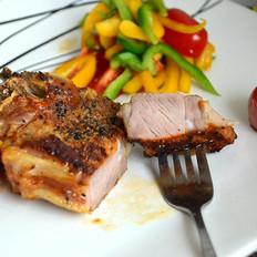 法式黑椒烤羔羊排