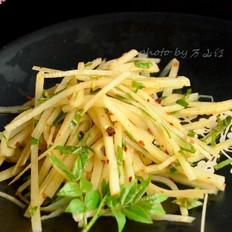 花椒芽拌笋丝