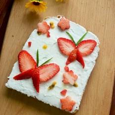草莓乳酪三明治