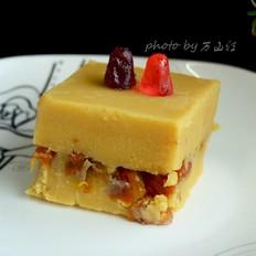 柿饼夹心豌豆黄的做法大全