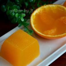 【黄金满地】橙汁果冻