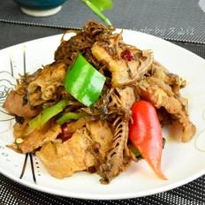 年夜菜硬菜之梅干菜回锅肉