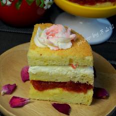 戚风夹心蛋糕