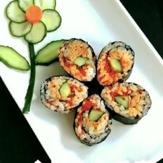 金枪鱼鱼子寿司