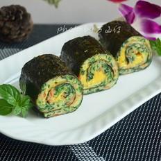 蔬菜奶酪海苔卷