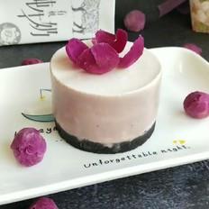 牡丹花慕斯蛋糕