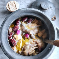 牡丹花鸡汤