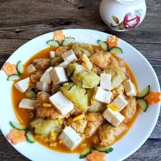 蟹黄酱烩菜