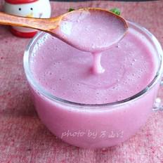 紫薯银耳浆