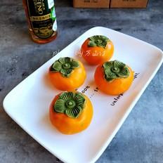 柿柿如意大米肉松月饼的做法