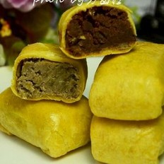 黄金豆沙酥