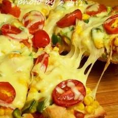 鸡肉玉米披萨