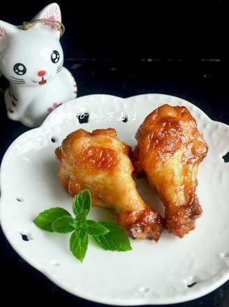 蜜汁烤鸡翅根的做法