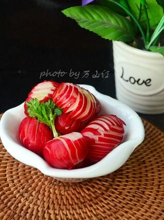 糖醋樱桃萝卜的做法