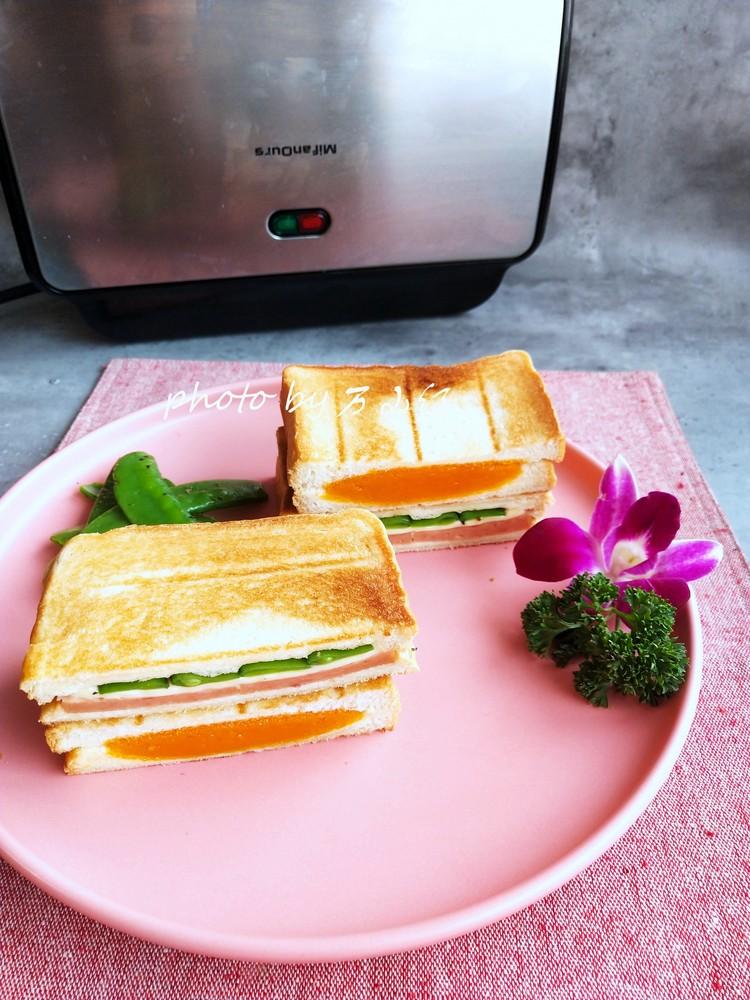 双味三明治的做法