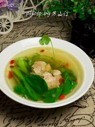 清汤炖羊脑的做法