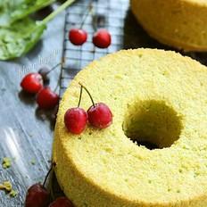 木糖醇菠菜戚风蛋糕