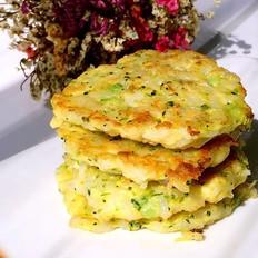 鳕鱼蔬菜米饼