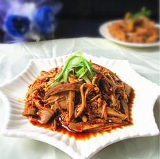 香辣金针菇猪肚丝