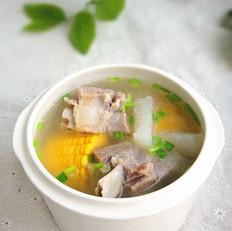 腊骨萝卜汤