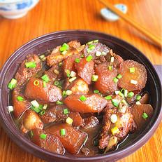 豆豉肋排炖萝卜