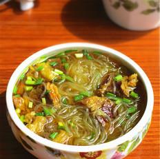 咖喱牛肉炖粉丝