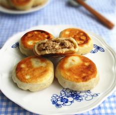 鲜笋猪肉烫面馅饼